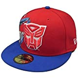 361111f66450c New Era 59Fifty HAT Hero Transformers Autobots Materialize Red Royal Blue  Fitted Cap