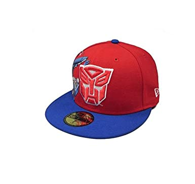 29fa6d17d785b New Era 59Fifty HAT Hero Transformers Autobots Materialize Red Royal Blue  Fitted Cap (7