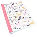 Milly Green Dog Theme Debonair Dogs 2 Ring Binder Notebook