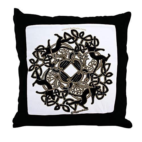 (CafePress Samhain Celtic Knot Decor Throw Pillow)