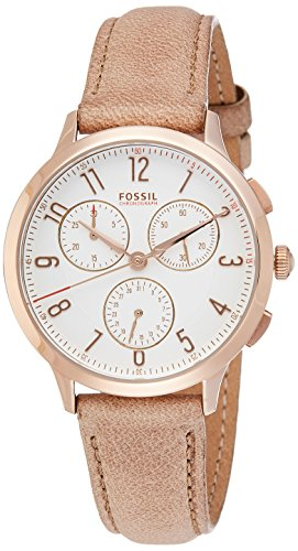 fossil women watches brown dial - 8