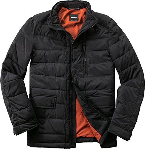 Strellson Premium Herren Jacke Mikrofaser Modisch Unifarben, Größe: 48, Farbe: Schwarz