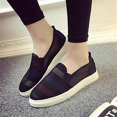 Sneakers White UK4 US6 Spring Pu Women'S EU36 Canvas Comfort Casual Flat Comfort CN36 RTRY 8qw5H1U