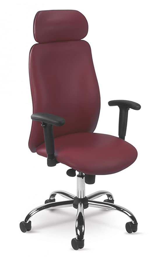 Poltrona sedia ufficio rossa sala d'attesa studio scrivania