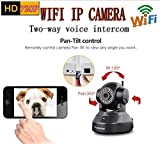Wireless Home Security IP Camera-Vstarcam C7837WIP for Indoor Surveillance, Baby Care, Pets Monitor including 15 Preset Position, 2 Way Audio, Night Vision, Motion Alarm, 1 Year Warranty