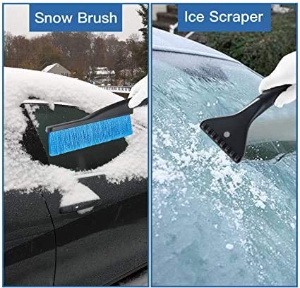 Berry USA Snow Brush and Ice Scraper for Car Snow Broom Windshield Scraper Snow Removal Brush