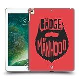 Head Case Designs Badge Of Manhood Bearded Bravado Hard Back Case for Apple iPad Pro 12.9 (2016/17)