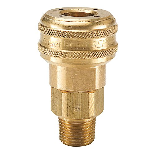 parker-hannifin-b32-series-30-brass-pneumatic-quick-coupler-male-pipe-thread-1-4-size-1-4-18-nptf-po