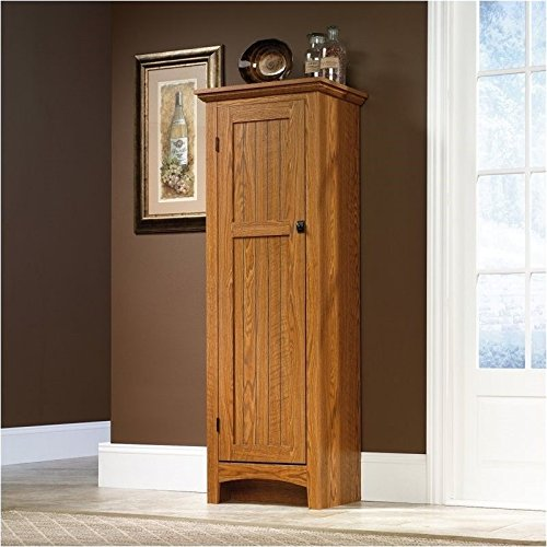 pemberly row summer home pantry in carolina oak finish
