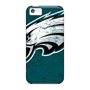 Defender Case With Nice Appearance (philadelphia Eagles) For Iphone 5c