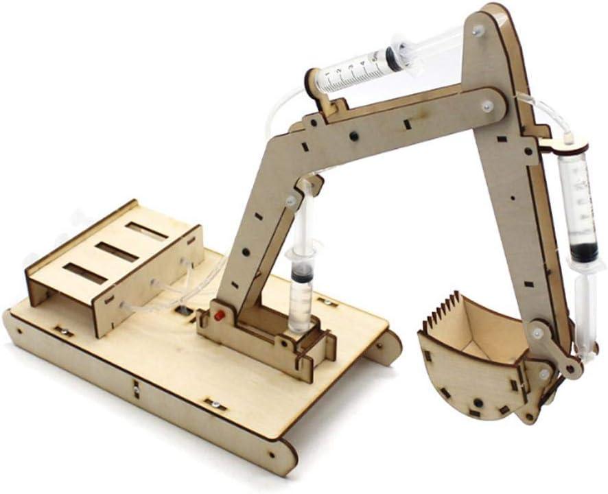 Jadpes Modelo de Ensamblaje de Excav, Mould, Manual DIY Modelo ...