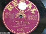 78rpm SANDY SHAW i love a lassie / he was very kind to me