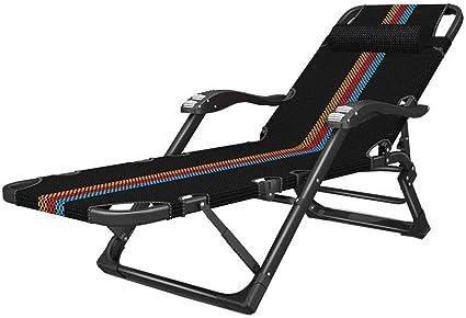 JIEER-C Ocio sillas Tumbona, Tumbona reclinable Silla ...