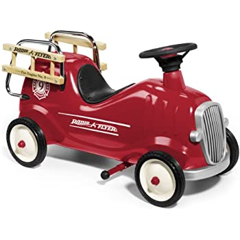 Radio Flyer Little Red Fire Engine Toys Games