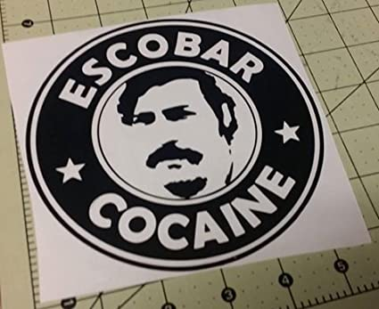 Amazon.com: Escobar Cocaine Medellin Cartel Narcos Decal ...