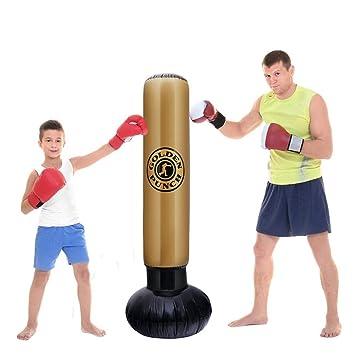 Saco de boxeo inflable de fitness, saco de boxeo pesado ...