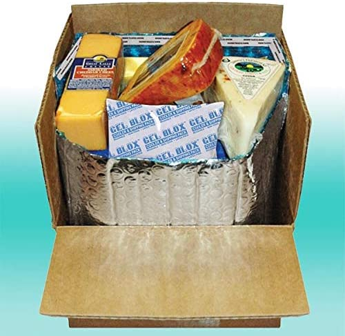 Insulated Thermal Box Liners Foil 11 X 8.5 X 5.5 25 Pack