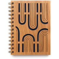 Arches Laser Cut Wood Journal (Notebook/Birthday Gift/Gratitude Journal/Handmade/Christmas Gift)