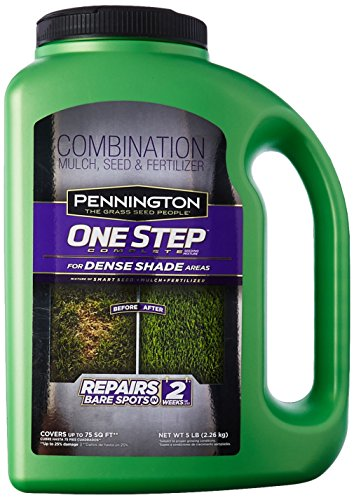 Pennington Seed 100520282 1 Step Dense Shade Mulch Jug 5lb, 5 - Seed One Mix