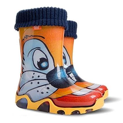 Childrens Kids zapatos de lluvia botas de agua botas todos los tamaños de Reino Unido,