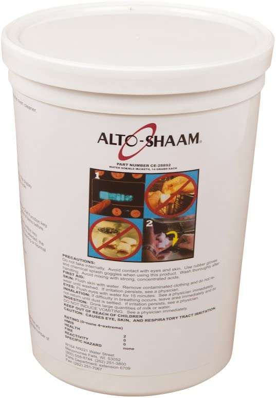 Alto Shaam CE-28892 Cleaner, 90 tablets per bucket
