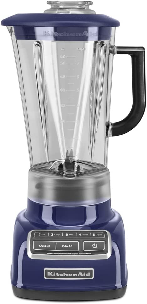 KitchenAid KSB1575BU 5-Speed Diamond Blender for Indian Cooking