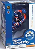 McFarlane Toys NHL Sports Picks 12 Inch Action Figure: Wayne Gretzky (Edmonton Oilers) Blue Jersey VARIANT