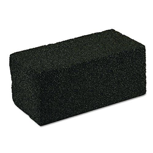 Scotch-Brite PROFESSIONAL 15238 Grill Cleaner, Grill Brick, 4 x 8 x 3 1/2, Black (Case of 12) (Scouring Brick)