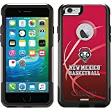 Coveroo Commuter Series Case for iPhone 6 Plus - Retail Packaging - University of New Mexico Basketball