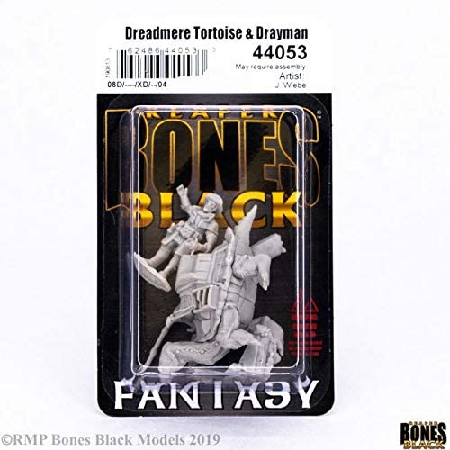 Amazon.com: Reaper Miniatures Dreadmere Tortoise & Drayman ...