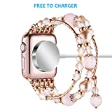 Anjoo Band Compatible with Apple Watch 38mm, with