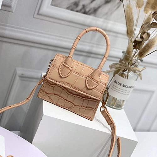 ZWQ Handtaschen Umhängetaschen für Frauen Schulter Messenger Bags Weibliche kleine Clutch Damen Geldbörse, 7