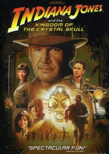 Indiana Jones & The Kingdom of the Crystal Skull Reino Unido DVD: Amazon.es: Cine y Series TV