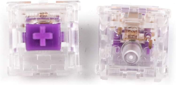 Outemu New Edition SMD RGB 5 pin MX Switch Ice Purple Sky Blue OTM for MX Mechanical Keyboard