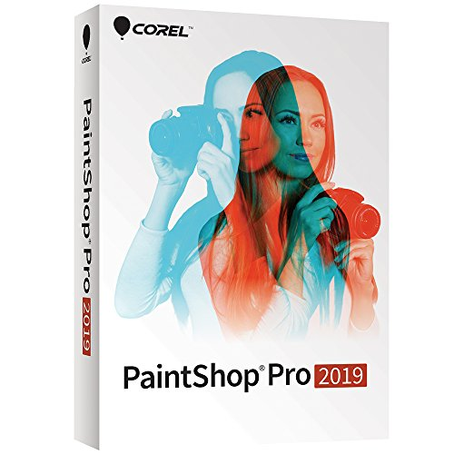 Paintshop Pro 2019 - Photo Editing and Graphic Design Suite for PC