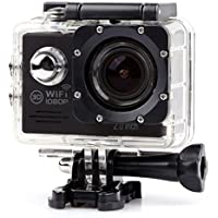 YOEMELY Waterproof 1080P Sports Action Camera with 2.0 Inch LCD for Underwater Photograph and Outdoor Sports (Black)