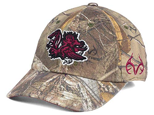 cd66d3f9d32f0 Amazon.com   Top of the World South Carolina Gamecocks Camo Realtree  Fallout Stretch Cap   Sports   Outdoors