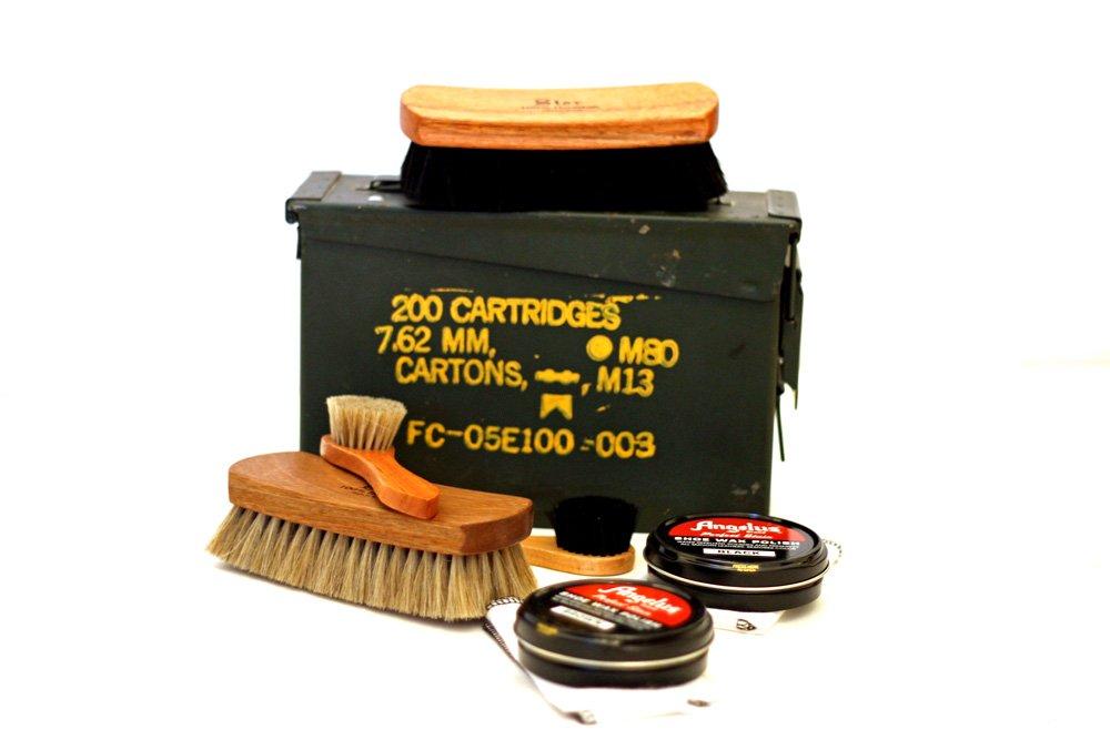 Shinekits Ammo Can Shoe Shine Kit by Shinekits (Image #1)