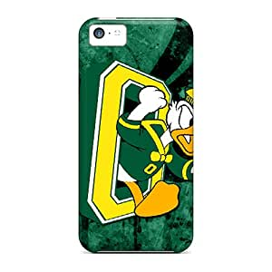 KellyLast Iphone 5c Shockproof Hard Cell-phone Cases Allow Personal Design HD Oregon Ducks Pictures [txx1236kibZ]