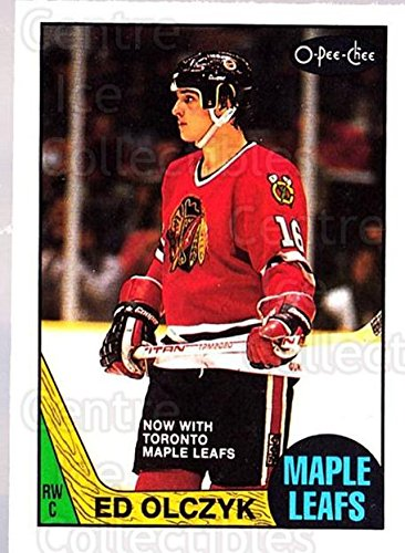 Ed Olczyk Hockey Card 1987-88 O-Pee-Chee #104 Ed Olczyk