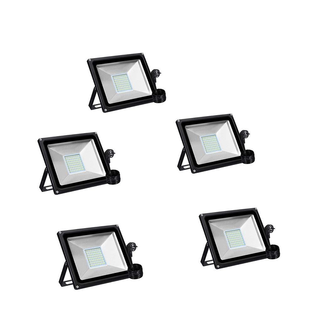 50 W LED Strahler IP65 Wasserdicht Halloween Projektor Lichter f/ür G/ärten Pl/ätze LED Flutlicht Outdoor-Sicherheitsleuchte,4000LM Warmwei/ß, 1PCS