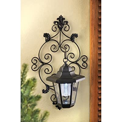 Home Locomotion - Outdoor Solar Wall Lantern (pack of 1 SET)
