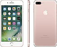Apple iPhone 7 Plus 128 GB Unlocked, Rose Gold (Certified Refurbished)
