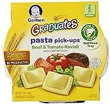 Gerber Graduates Pasta Pick-Ups Ravioli, Beef and Tomato, 6 Ounce, 8 Count