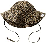 Flap Happy Little Girls'  Upf 50+ Orginial Floppy Hat, Leopard, X-Large