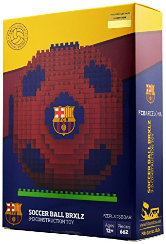 fan products of BRXLZ Barcelona FC Soccer Ball 3D Construction Toy