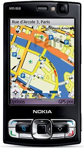3g 5 Player--us Unlocked Warranty Gps 8 Version Wi-fi Mp With Phone Media And black N95-4 Gb Nokia Camera