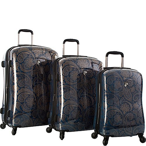 Heys 3 Piece Set, Indigo Paisley by Heys