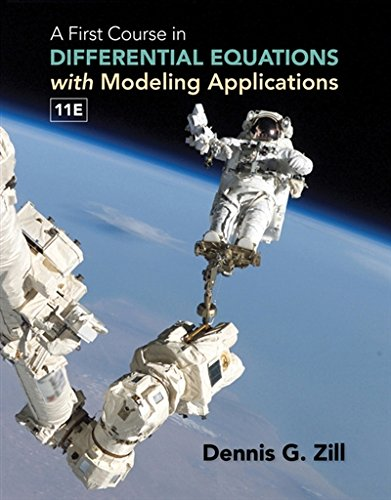 1305965728 - A First Course in Differential Equations with Modeling Applications