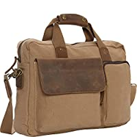 "Vagabond Traveler Canvas 14"" Laptop Messenger Bag- eBags Exclusive by Vagabond Traveler"
